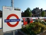 West Hampstead leafy platform